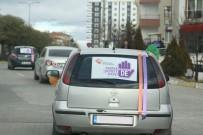 Çankırı'da 'Kadına Yönelik Şiddete Hayır De' Konvoyu