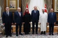 BAŞBAKAN YARDIMCISI - Cumhurbaşkanı Erdoğan, Diyanet İşleri Başkanı Erbaş'ı Kabul Etti