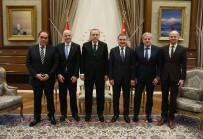 SERVET YARDıMCı - Cumhurbaşkanı Erdoğan, Infantino'yu Kabul Etti