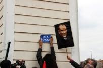 TÜRKIYE GENÇLIK BIRLIĞI - Eskişehirli Vatandaşlar 'NATO' Sokak İsmini, 'Ata' Sokak Olarak Değiştirdi