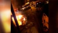 HUZUR MAHALLESİ - İstanbul'da Gecekondu Yangını