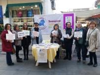 KADIN PLATFORMU - Kadına Şiddetle Uluslararası Mücadele Ve Dayanışma Günü Öncesinde Sahaya İndiler