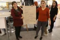 MUKAVVA - Kadınların 25 Kasım Standına Yoğun İlgi Gösterdi