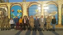 CAHIT ÇELIK - Karakol Duvarları, Kentin Kültürü Ve Milli Değerlerle Süslendi