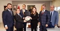 PORSELEN TABAK - MHP İstanbul Milletvekili Erdem'den Rektör Kızılay'a Ziyaret