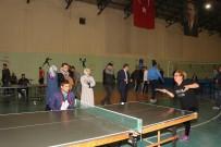 MILLI EĞITIM MÜDÜRLÜĞÜ - Öğretmenler Masa Tenisinde Yarıştı