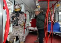 TOPLU TAŞIMA ARACI - Özel Harekat Polisinden Gerçeği Aratmayan Rehine Kurtarma Tatbikatı