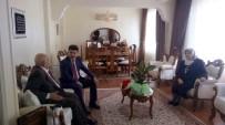 Rektör Karacoşkun Lise Öğretmenini Ziyaret Etti