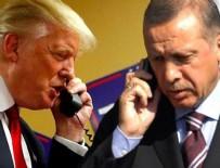 ABD BAŞKANI - Cumhurbaşkanı Erdoğan Trump'la görüştü