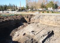 BEYŞEHIR GÖLÜ - Araştırma Kazısında Tarihi Sur Kalıntıları Ortaya Çıktı