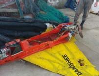 UÇAKSAVAR - Balıkçı ağına İHA takıldı
