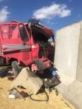 ALİ AY - Dargeçit'te Trafik Kazası Açıklaması 1 Yaralı