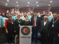 HIZMET İŞ SENDIKASı - Hak-İş Kadınları Kadına Yönelik Şiddete 'Hayır' Dedi