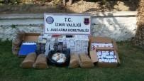 BADEMLER KÖYÜ - Jandarma Kaçak Sigara Ve Tütüne Geçit Vermedi