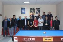 MUSTAFA KARADENİZ - Karaman'da Öğretmenler Günü Bilardo Turnuvası Sona Erdi