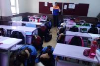 DEPREM RİSKİ - Ortaokullarda 'Afet Bilinci Ve Deprem' Konulu Eğitimler Devam Ediyor