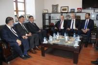 TEMEL KARAMOLLAOĞLU - SP Genel Başkanı Karamollaoğlu'ndan DTSO'ya Ziyaret