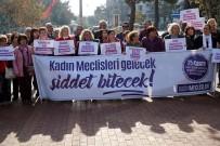 KADIN PLATFORMU - Tekirdağlı Kadınlar 'Şiddete Hayır' Dedi