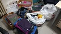 TEKSTİL MALZEMESİ - Tekstil Malzemesi Yüklü Araçları Çalan Hırsızlar Yakalandı