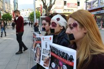 Yaptıkları Makyajlarla 'Kadına Yönelik Şiddet'e Dikkat Çektiler