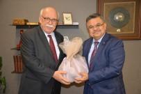 FEYZULLAH KIYIKLIK - Başkan Yağcı, Eski Kültür Ve Turizm Bakanı Avcı'yla Bir Araya Geldi