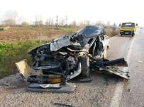 KARABIGA - Biga'da Trafik Kazası Açıklaması 1 Ölü