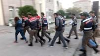 YAKIT DEPOSU - Bursa'da Mazot Hırsızlarına Suçüstü