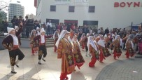 FOLKLOR GÖSTERİSİ - Dünya Çocuk Hakları Haftası Mersin'de Kutlandı