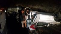 ESKIGEDIZ - Gediz'de Trafik Kazası Açıklaması 1 Yaralı