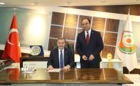MEHMET AKYÜREK - Gençlik Ve Spor Bakanı Bak Şanlıurfa Büyükşehir Belediyesini Ziyaret Etti