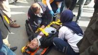 ELEKTRİKLİ BİSİKLET - Hafif Ticari Araçla Elektrikli Bisiklet Çarpıştı Açıklaması 1 Yaralı