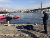 RAGIP GÜMÜŞPALA - Haliç Metro Köprüsü'nden İntihar Eden Şahsın Cesedi Bulundu