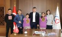 TERMİK SANTRAL - Öğrenciler Projelerini Başkan Akay'a Tanıttı