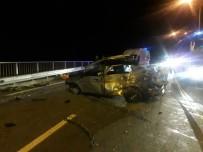 Rize'de Kaza Açıklaması 1 Ölü, 3 Yaralı