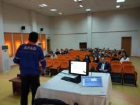 SEVGİ EVLERİ - AFAD 'Sivil Savunma Eğitimi' Verdi
