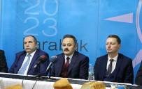 AK Parti İl Yönetimi Basınla Bir Araya Geldi