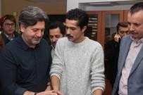 İSMAİL HACIOĞLU - Ayla Film Ekibi İletişim Bilimleri Fakültesini Ziyaret Etti