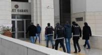 KORSAN GÖSTERİ - Eylem Hazırlığındaki 9 Kişi Gözaltına Alındı