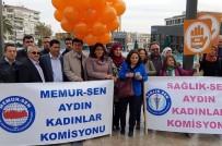 KADIN CİNAYETLERİ - Kadın Sağlıkçılar Kadına Şiddete Karşı Toplumsal Dayanışma Çağrısı Yaptı