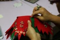 HEDİYELİK EŞYA - 'Keçe' Kadınların Elinde Hayat Buluyor