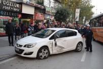 MEHMET BUYRUK - Malatya'da 5 Araç Birbirine Girdi
