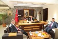 ALPASLAN KAVAKLIOĞLU - Milletvekili Ve İl Başkanından Niğde Belediye Başkanı Özkan'a Ziyaret