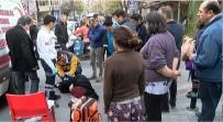 MİNİBÜS ŞOFÖRÜ - Nişantaşı'da Yolun Ortasından İlerleyen Kadına Lüks Minibüs Çarptı