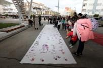 KADINA YÖNELİK ŞİDDETLE MÜCADELE - Toros Kadınlarından 'Kadına Şiddete Dur' Etkinliği