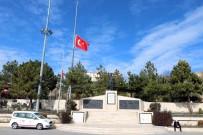 Yozgat'ta Bayraklar Yarıya İndirildi