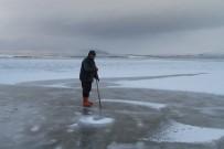 GÖLLER - Aktaş Gölü Dondu