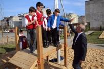 TELEFERIK - Altınordu'da Çocuk Parkları Ahşaptan Yapılıyor