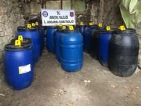 SAHTE RAKı - Amasya'da 5 Bin Litre Sahte İçki Ele Geçirildi
