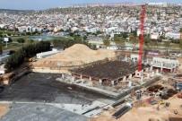 İSLAM ESERLERİ - Antalya'nın En Büyük Camisinde Çalışmalar Devam Ediyor