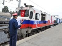 YÜKSEL ÜNAL - Bakü-Tiflis-Kars Demiryolu Hattı'nda Türkiye'den İlk Tren Yola Çıktı